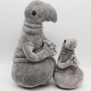 Image 3 - מחכה בפלאש צעצוע Meme טאבי אפור בועת צעצוע Snorp בפלאש בובת צעצועי Pochekun הומונקולוס Loxodontus צעצוע קטיפה