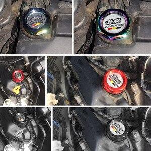 Image 5 - RASTP Freies Verschiffen Aluminium Mugen Power Öl Kappe Öl Kraftstoff Filter Racing Motor Tank Cap Abdeckung Für HONDA RS CAP003