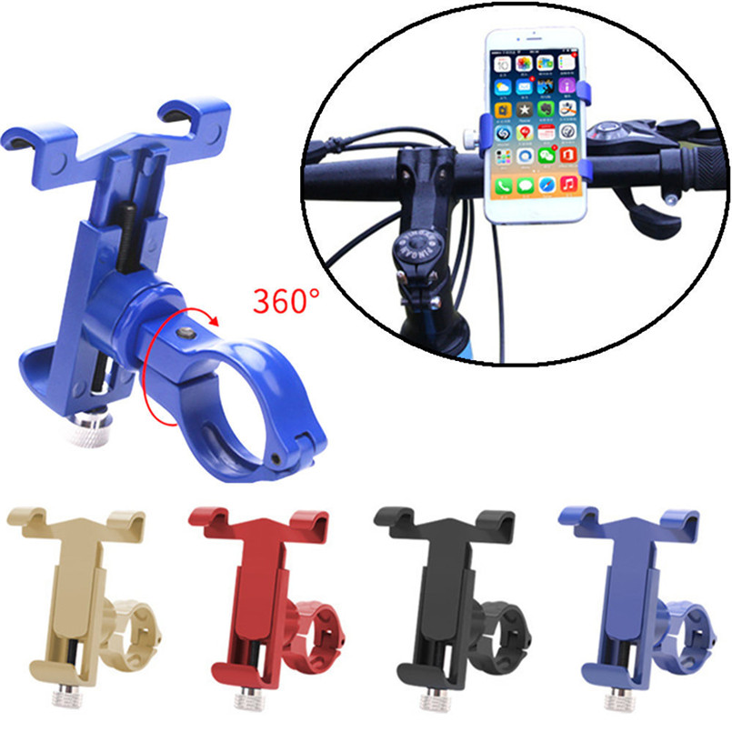 360 degree Rotate Bicycle Bike Phone Mount Bracket Holder Clip Handlebar Phone Holder