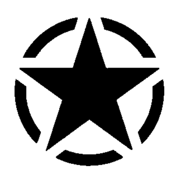 Allied Star Silhouette Vinyl Sticker Decal Car Styling For