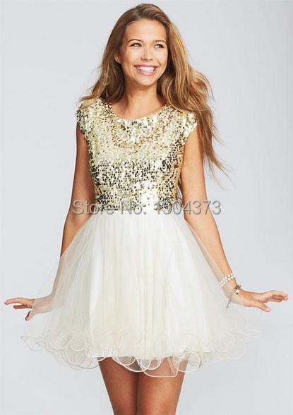 Rose Gold Homecoming Dress Photo Album - Reikian