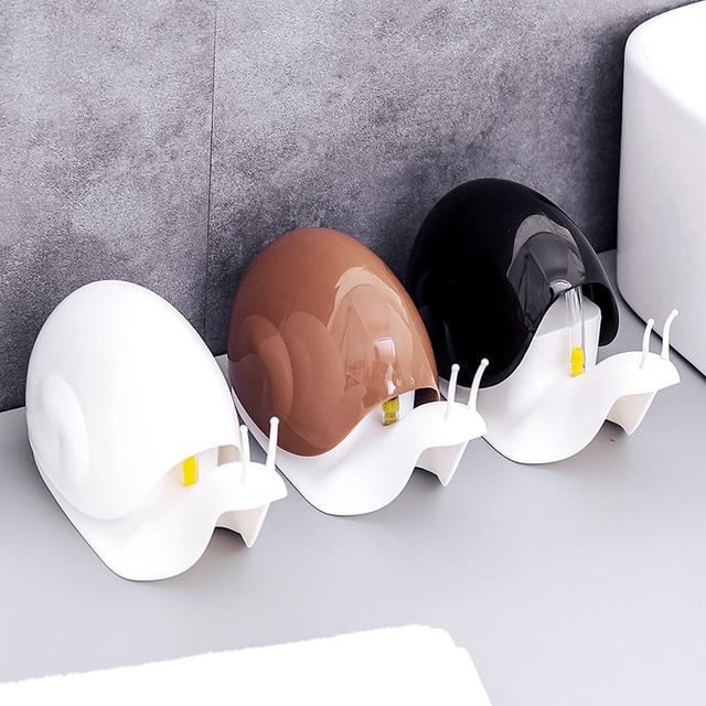 Vaznlife-shampooing de bain   Shampooing en bouteille, moulant escargots de dessin animé créatif, shampooing pressé, liquide démulsion pour lavage des mains