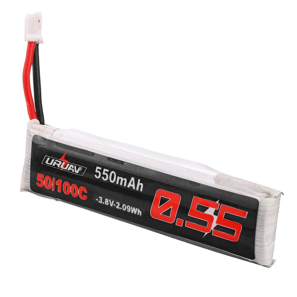 URUAV 1S HV 3.8V 550mAh 50C Lipo