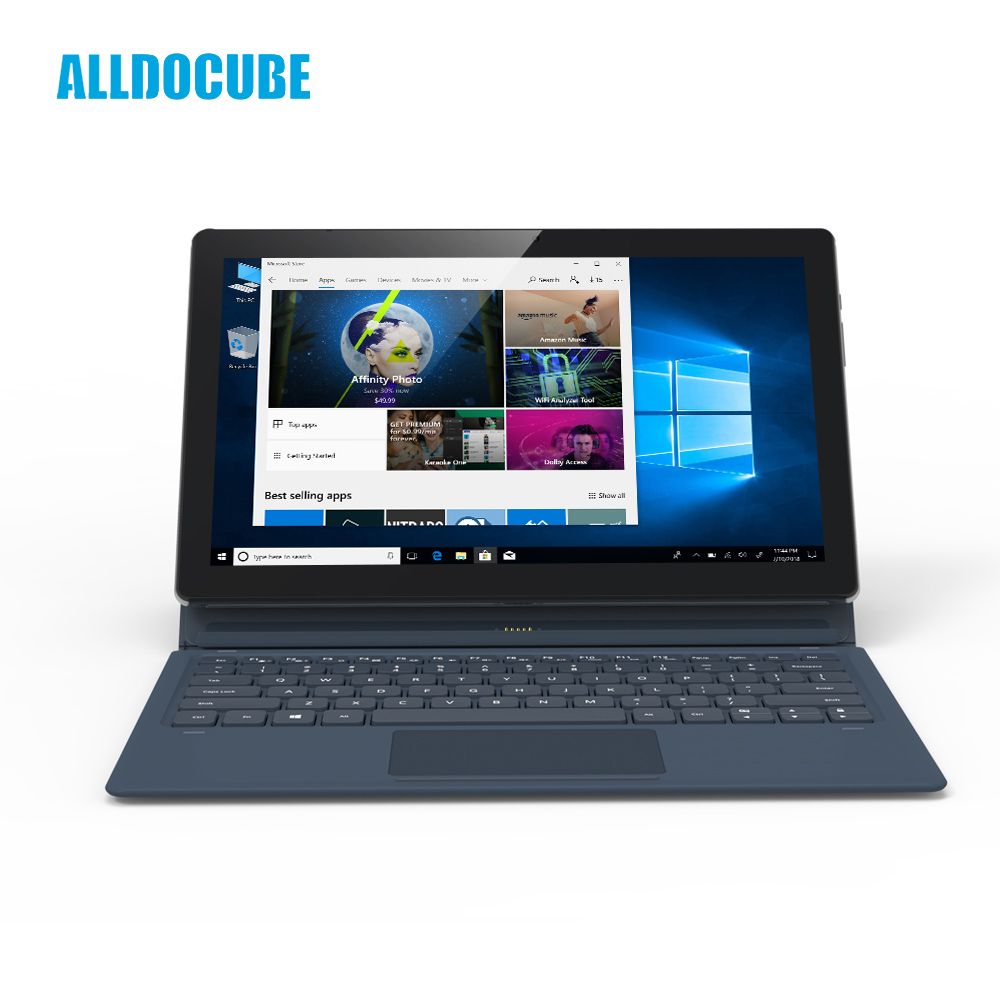 ALLDOCUBE KNote5 11.6 pouce FHD 1920*1080 IPS windows10 Intel Gemini Lac N4100 Quad Core Tablet PC 4 gb RAM 128 gb ROM Double WiFi