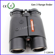 New brand 3-generation 1400 yards precision all-opical HD laser range finder waterproof / fogproof  binoculars with 4 models