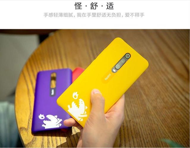 Original Xiaomi Redmi K20 K20 Pro Hard PC Ultra Thin Monster Design Back Case Cover