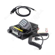 Free shipping!QYT KT-UV980 40W 2-Band UHF VHF Mobile Radios Transceiver w/ USB Program Cable