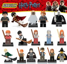 Harry Potter Single Sale Action Figures Hermione Granger Ron Lord Voldemort Draco Malfoy legoing Blocks Models & Building Toys(China (Mainland))