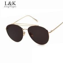 Larga Arquero Brand Design Retro Oval gafas de Sol de Las Mujeres Gafas de Sol Doble Haz Para Hombres Eyewares gafas de sol mujer STY1102M