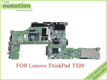 laptop motherboard for lenovo thinkpad T520 T520i 04W2020 QM67 GMA HD3000 DDR3