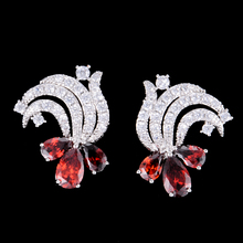 SisCathy Luxury Cubic Zirconia Earring Party Accessories Wife Girls Gifts Charms Cute Silver Small Stud Earrings For Women