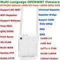 Mini OPENWRT Firmware 300 Mbps WiFi Router Wi-Fi Router Inalámbrico WiFi Repetidor Roteador con Puerto USB/3G/Servidor de impresión/VLAN/VOIP