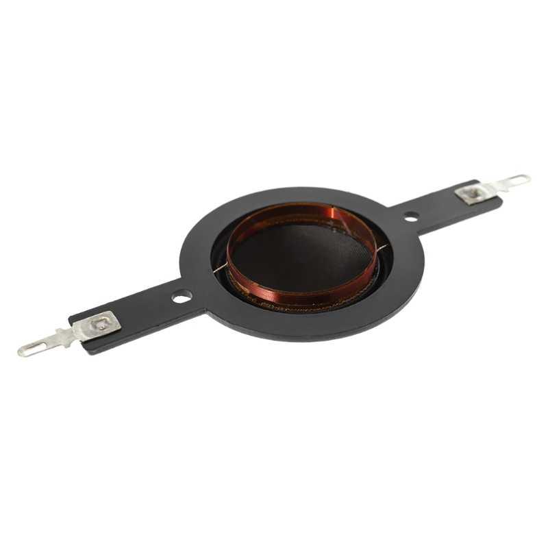 1 par 25,5mm Bobina de voz altavoz para agudos con diafragma cuerno conductor 25 hilos agudos película voz Universal anillo cúpula