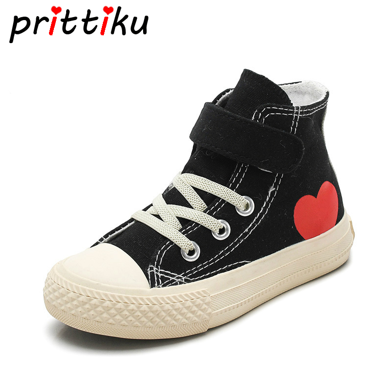 Canvas Touch Strap Sneakers Toddler