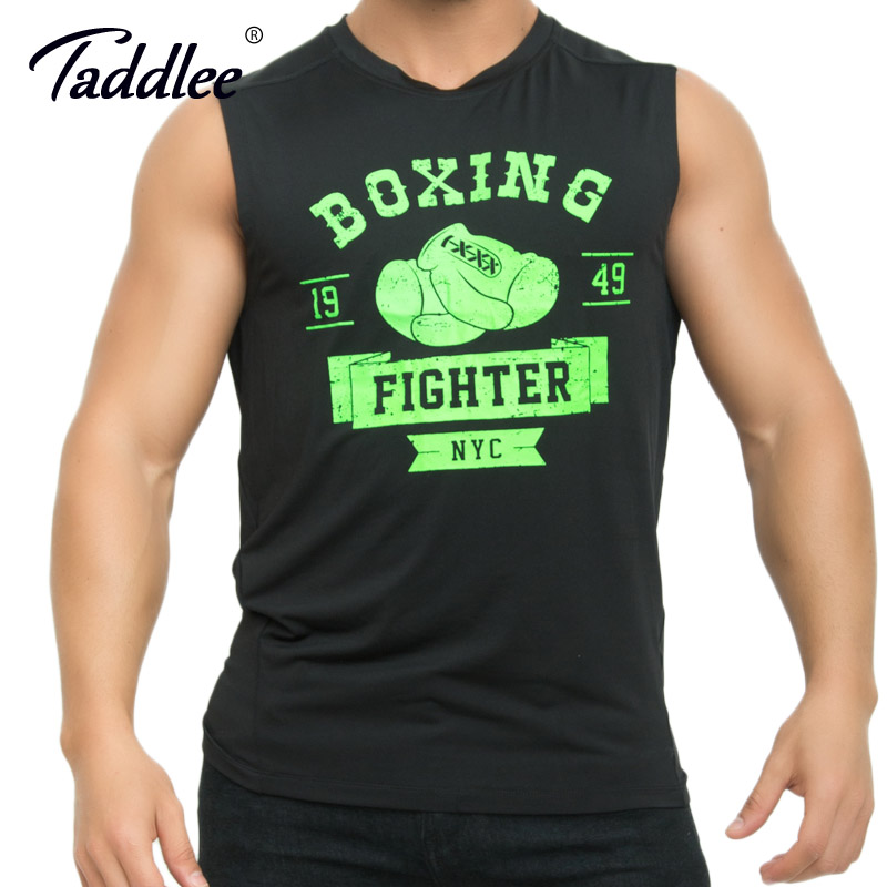 Taddlee Brand Mens Tank Top Sport Gym Run Basketball Tee Shirts Sleeveless Muscle Gasp Bodybuilding Stringer Singlets Shirts Men Activating Blood Circulation And Strengthening Sinews And Bones Vests