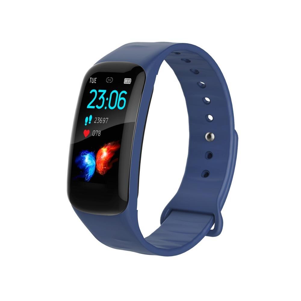 SPOVAN montre intelligente hommes sport numérique fitness montres bracelets led intelligent bracelet santé smartwatch moniteur coeur, taux de sommeil-in Montres sport from Montres    1