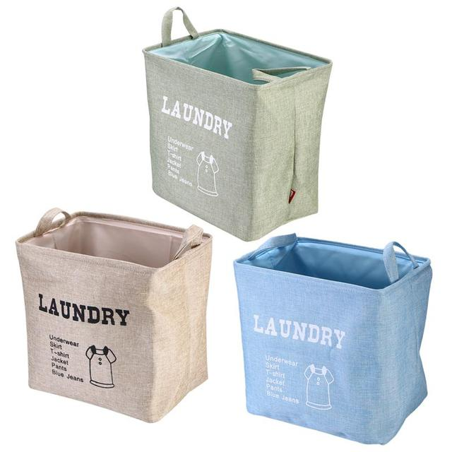 Laundry Hamper Bag With Handle Collapsible Toy Organizer For Storage  Laundry Basket Kids Toy Laundry Gift