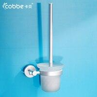Brush Silver Forest Glass Aluminum Toilet Bowl Brush Set Of Bathroom Accessories Restroom Brush Holder Brushes
