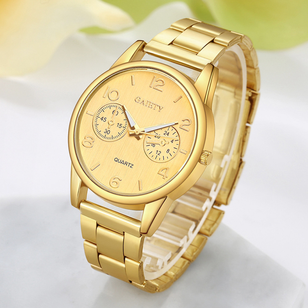 Luxury Women's Watches Roman Numerals Disc Ladies Quartz Movement Wristwatch Simple Alloy Strap Clock Casual Zegarki Damskie@50