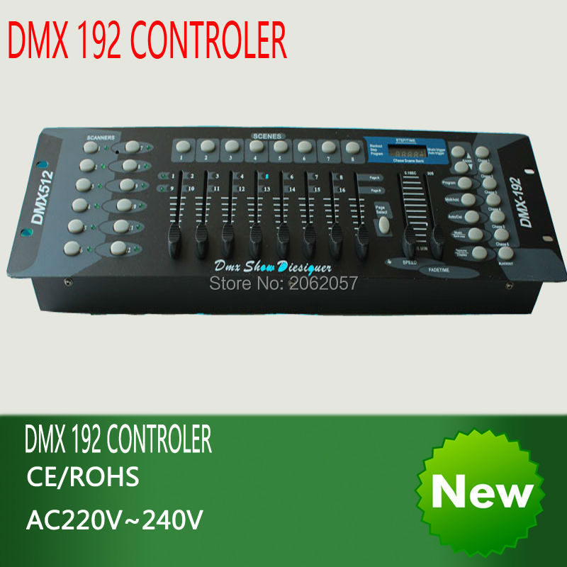 High quality 192 DMX controller stage lighting 512 dmx console DJ controller equipment moving head par light controller 2 pc lot new 192 dmx controller dmx 192 mini stone controller 192 dmx control for stage dmx console light moving head light