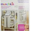 munchki1 baby diapers bedside storage bag & M-unchkin Diaper Change Organizer / Baby Bed Hanging Storage Bag Crib Organizer 51cm
