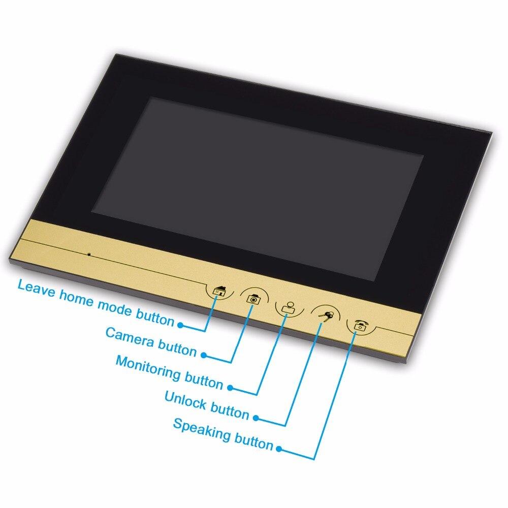 7 Inch ID Card Open Door TF Card Slot Video Door Phone XSL-V70KM-IDT