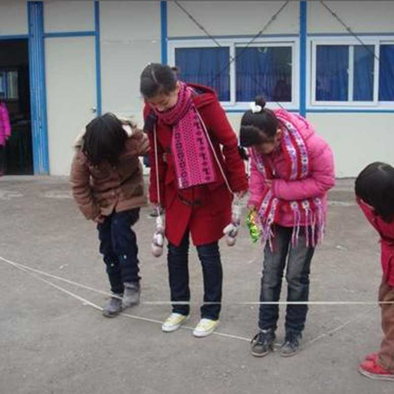 جديد الطفر حبل في الهواء الطلق متعة لعبة الألعاب الرياضية اللوازم المدرسية الاطفال اللعب