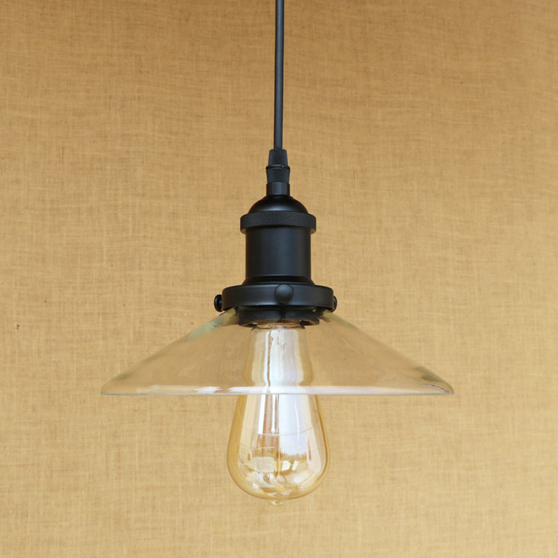 Vintage Retro LED glass pendant lamp American Loft hanging E27 iron pendant light restaurant living room lighting fixture 220v vintage pendant light kerosene modelling led lantern lamp iron glass loft ceiling hanging decoration lighting fixture ac110 265v