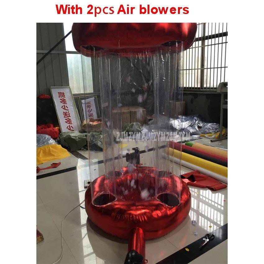 Оксфорд Надувные деньги поймать Ballons машина милый мультфильм дизайн для продвижения деньги коллекция игровой инструмент с 2 шт. Air воздуходу