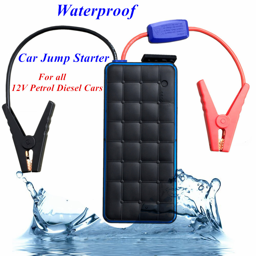 Super Power 28000mAh Car Jump Starter Power Bank 1000A Starting Device Waterproof IP65 Level Booster Car Battery Charger Buster