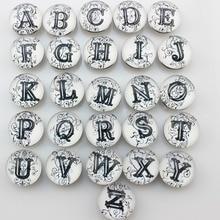 Snap Tombol Alphabet Campuran
