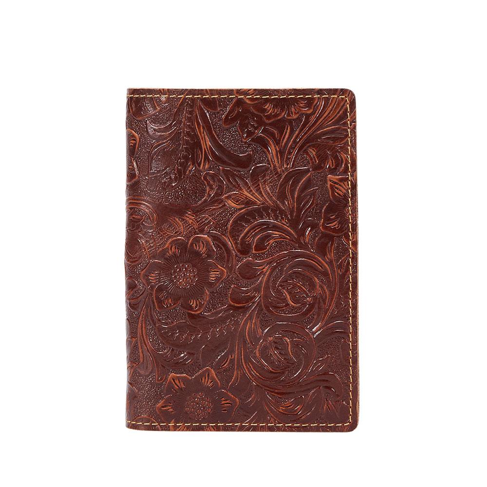 K018-Women Passport Cover Purse-Brown-05(8)088