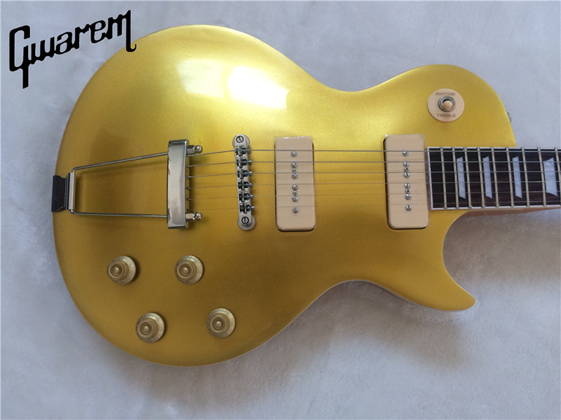 Electric guitar Gwarem new lp standard/GOLD top color guitar/guitar джордж бенсон george benson the new boss guitar lp
