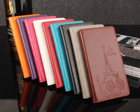 Xiaomi Redmi Note 4X Case 5 5 Inch Luxury Flower Tower Embossing Leather Wallet Flip Protective