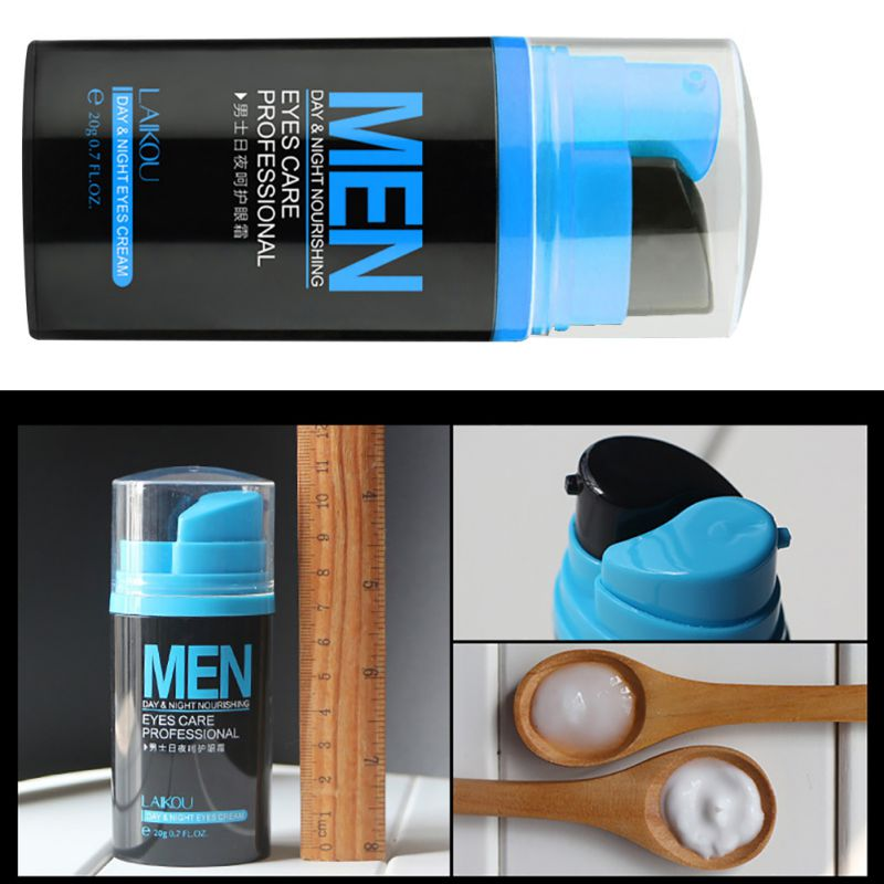 Men Day And Night Anti-wrinkle Firming Eye Cream Skin Care Black Eye Puffiness Fine Lines Wrinkles Face Care Product 2