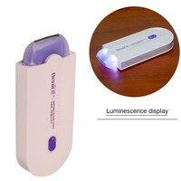 Лазерный Эпиляторы Для женщин удаления волос электрические D Эпиляторы безболезненно леди эпиляции набор смысл-светло-Технология D Эпилято...