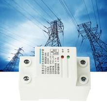 2P 63A Voltage Protective Device 3-Phase 4-Wire Automatic Recovery Over & Under Voltage Relay Protective Device
