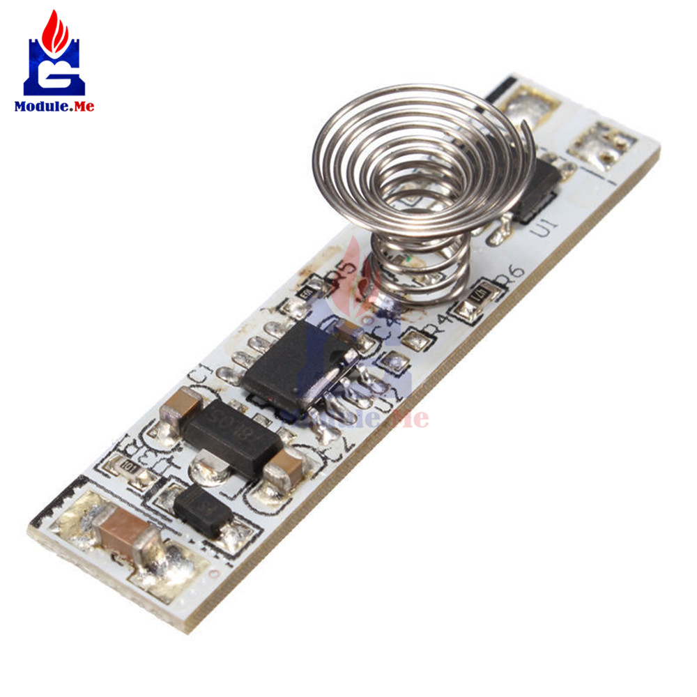 For Sale 9v 24v 30w 3a Touch Switch Capacitive Sensor Module Led Threemode Tone Generator Circuit Dimming Control Lamps Active Components