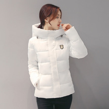 2016 Winter Thickening Women Parkas 1950s Women's Wadded Jacket Outerwear Fashion Cotton-padded Jacket Medium-long Coat