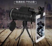 Militaire HD 40X60 monoculaire rofessional Chasse Télescope Zoom Haute Qualité mobile téléphone photographier
