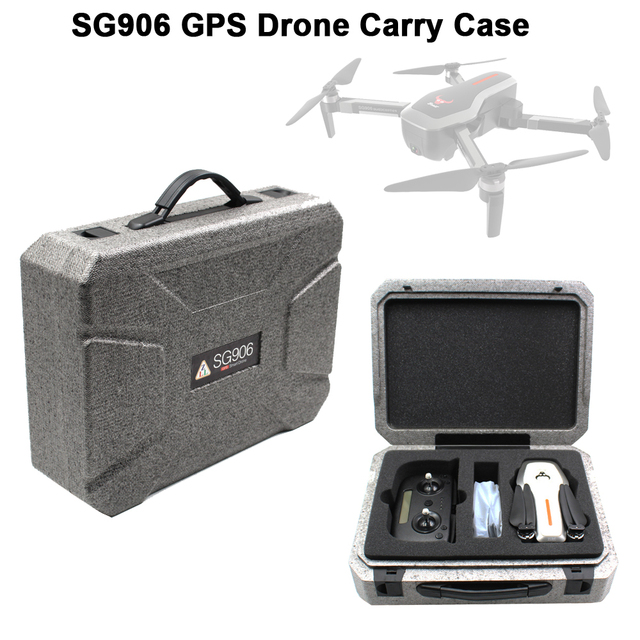LAUMOX SG906 CPS RC Drone Spare Part Suitcase Hard Portable Bag Carry Case Storage Bag for SG906 GPS 5G FPV RC Drone Quadcopter