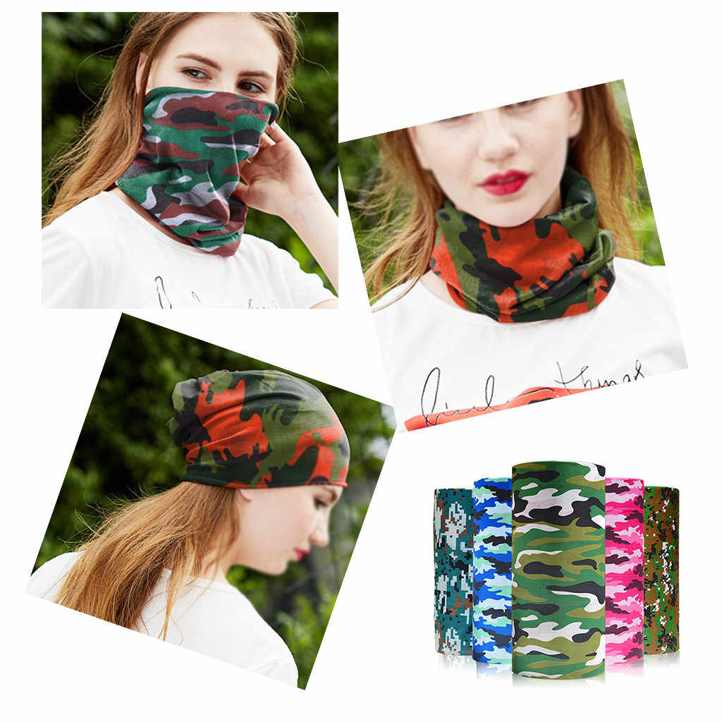 Unisex Neck Tube Warmer Scarf Outdoor Sport Bicycle Cycling Riding Magic Headband Scarves Cycle Magic Headband Face Mask #30