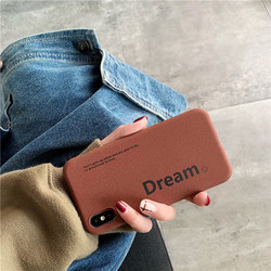 Matte TPU soft cellphone cover for iPhone Xr case iPhone Xs Max case X XS iPhone 6 6s Plus 6G 6P iPhone 7 7P 8 Plus Dream coffee 4