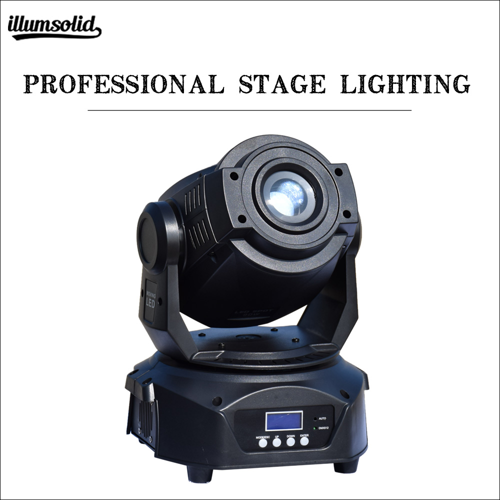 High Power 90W Spot Beam Moving Head Light High Brightness Gobo Light