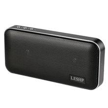 LESHP Portable Tear-resist Anti-shock 10W Wireless Speaker With Built-in 3.7V 2500mAh Battery Power Bank g shock resist