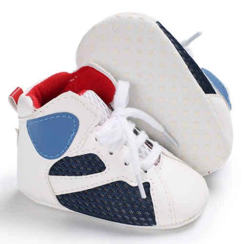 PUDCOCO Baby Peuter Baby Boy Girl Soft Sole Crib Schoenen Sneaker Winter Warm Pasgeboren tot 18 Maanden