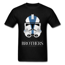 Star Wars Empire Darth Vader Tshirt 501st Legion Clone Trooper Brothers Imperial Stormtrooper Men's T Shirt Europe Size Great zshop star wars backpack great movie theme shoulder bag imperial stormtrooper the storm troops daypack