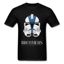 Camiseta de Star Wars Empire Darth Vader 501st Legion soldado clon Brothers Imperial Stormtrooper, camiseta para hombre talla Europea grande(China)