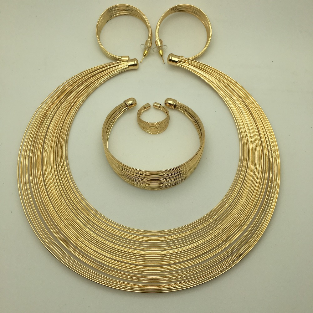 BAUS Eritrea Dubai indian arabic gold jewelry Set Ethiopian Gold - Fashion Jewelry - Photo 4