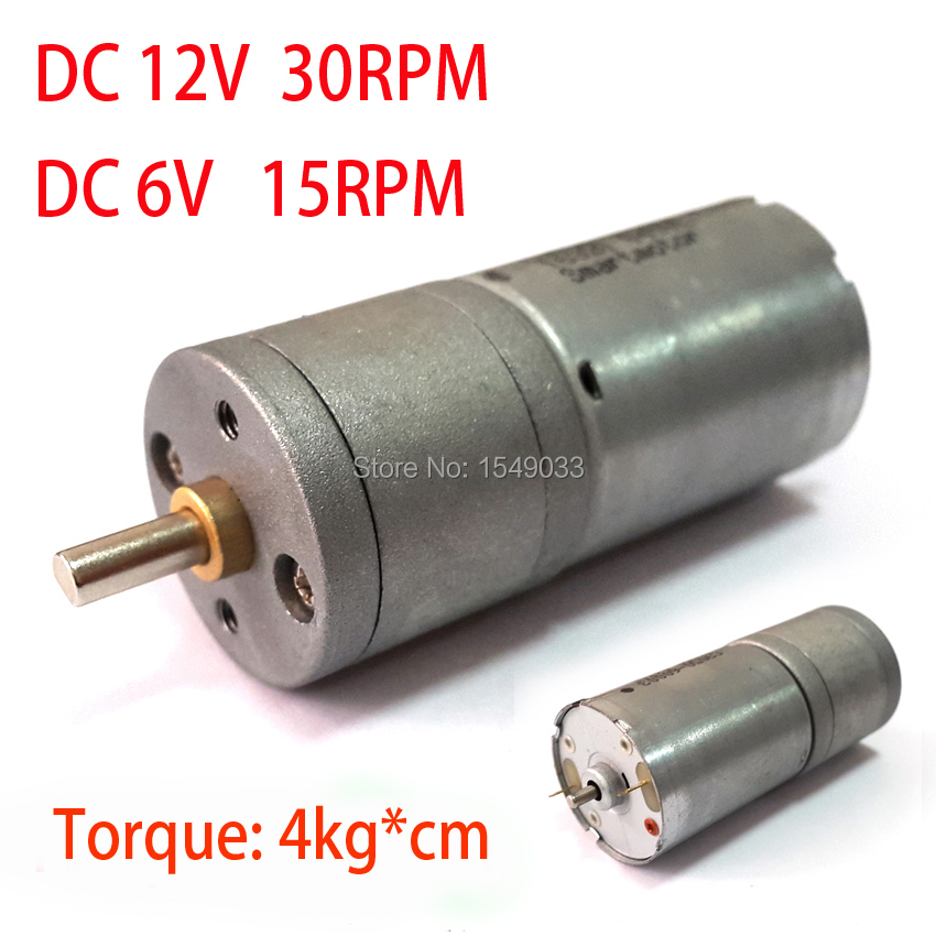 NEW 12V 30RPM DC motor powerful high torque gear box motor gearmotors 30rpm 12v dc free aliexpress com buy new 12v 30rpm dc motor powerful high torque  at reclaimingppi.co